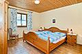 Schlafzimmer der Ferienwohnung im Ferienhaus - Berghof Kopp